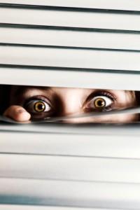 Fear peeking through