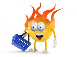 hell and a hand basket iStock