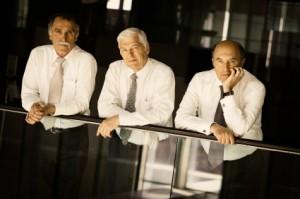 Senior men in corporate america