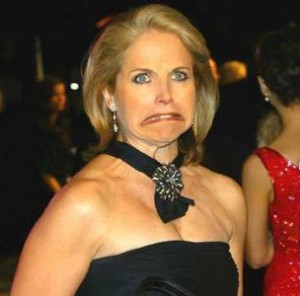 Katie Couric shagrin