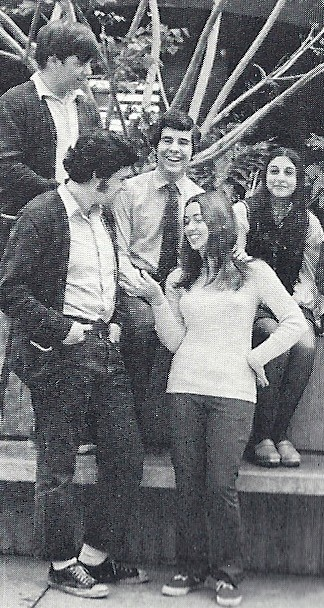 Tammy & Steven High School 1970